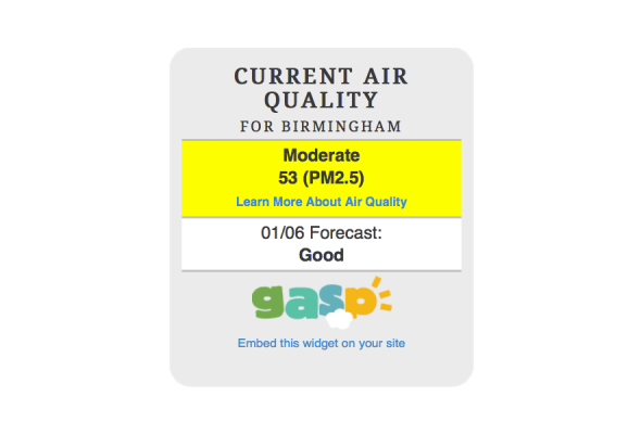 Gasp Launches New Online Air Quality Tool